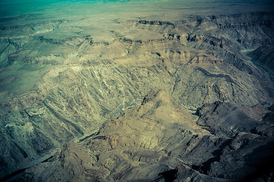 Leaving fish river canyon,  we did a fly over on  our way to Luderitz.