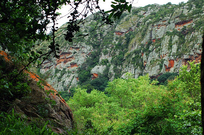 Sandstone Cliffs, Soutpansberg Mountains, South Africa