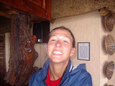 Tanya at Toro Lodge.
