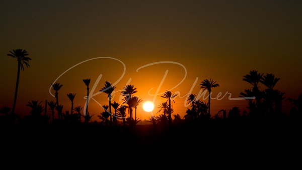 Sunset in Morocco