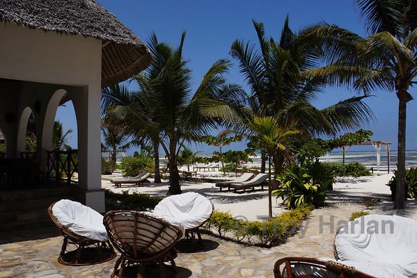 At our Zanzibar hotel