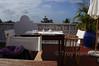 Rooftop breakfast in Stone Town