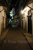 Stone Town's streets can be hard to navigate at night