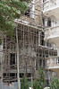Scaffolding in Stone Town