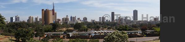 Nairobi panoramic