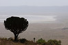 Descending into Ngorongoro Crater