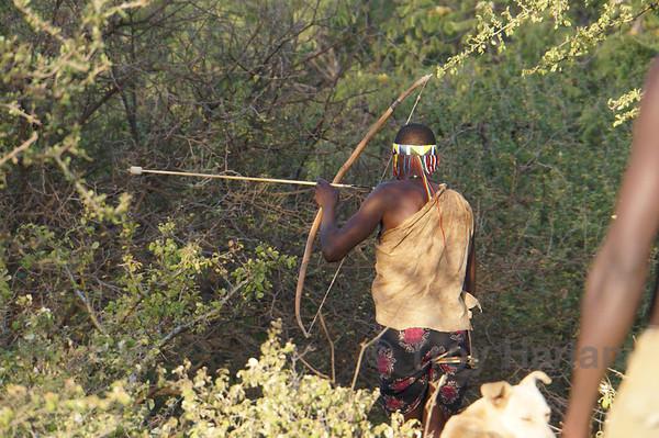 Hunting with the Hadzabe bushmen
