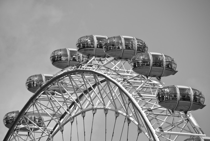 "<span id=""title"">London Eye</span> <em>London</em> We thought about riding on the London Eye and I bet it would have been awesome. We were only there a few hours, though, so we decided not to try."