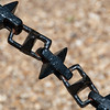 """<span id=""""title"""">Hardcore Chain</span> <em>London</em> I think this particular chain was surrounding a canon, but we saw it in other places, too. It's like a freaking mace."""