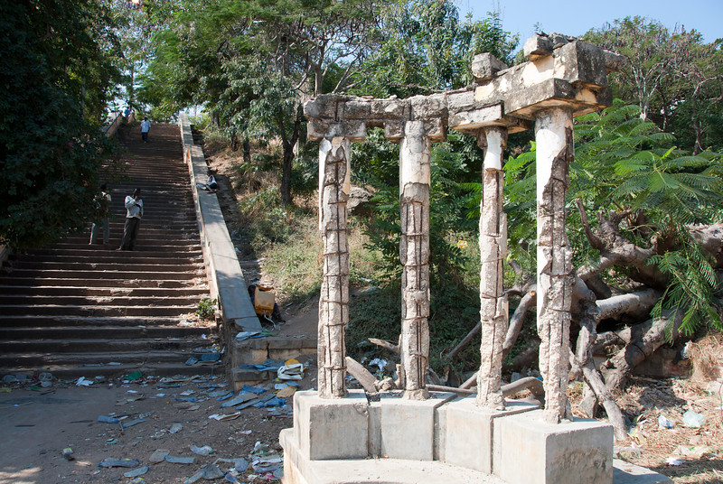 """<span id=""""title"""">Neglected Columns</span> I'm sure these were much more impressive when Mozambique was a Portuguese colony."""