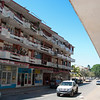 """<span id=""""title"""">Apartment Building</span> Such a variety of balconies."""