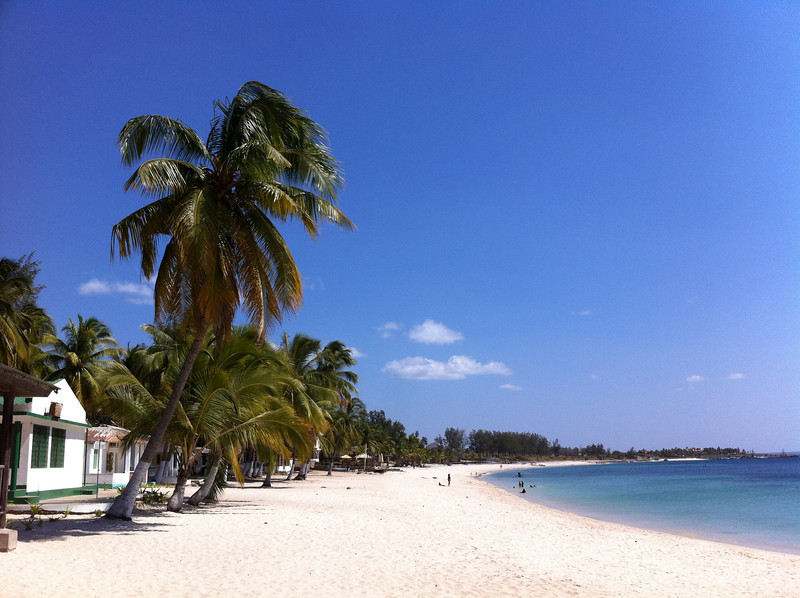 "<span id=""title"">Wimbe Beach</span> Here's why Pemba is a tourist destination - Wimbe Beach. Coconut palms, white sands, clear skies, calm water... it's pretty great."