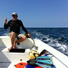 """<span id=""""title"""">Pieter</span> This is the owner of the dive shop that took us out on the boat. The snorkeling was a lot of fun, and 1.5 hours just flew by.  We saw amazing sea stars, puffer fish, eels, sea cucumbers, multiple clownfish families, and lots of other colorful fish. We saw some really impressive corals, but unfortunately there were some large dead areas as well."""