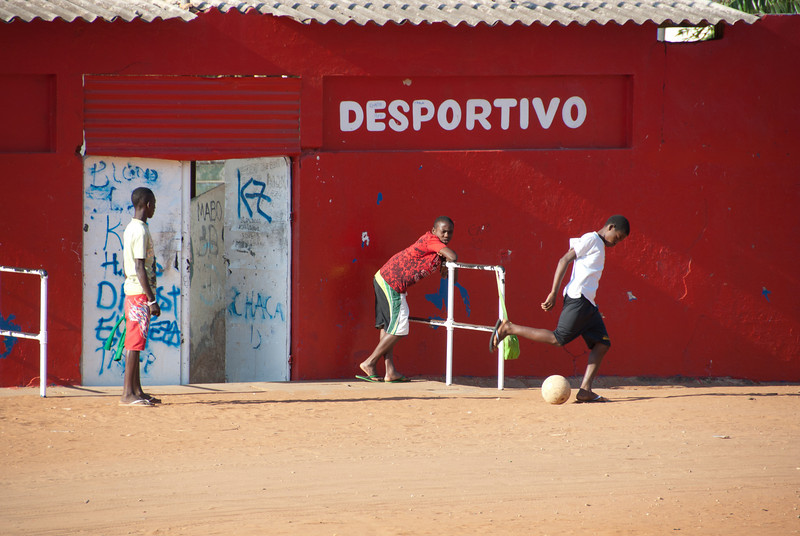 """<span id=""""title"""">Desportivo</span> It means sports - it's a small soccer stadium. We saw kids playing soccer all the time."""