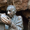 "<span id=""title"">Dr. Robert Broom</span> <em>Sterkfontein Cave, Cradle of Humanity</em> This is a statue of the archaeologist who first discovered our hominid ancestors in the cave that you can see behind him. Why the shininess? Well, you can rub his nose for good luck, or his hand for wisdom. You can't rub both though, or you'll die. It's totally true."