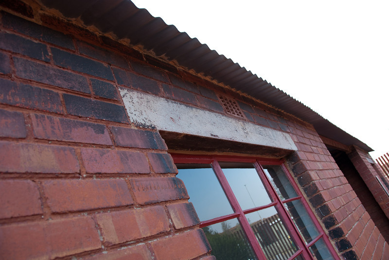 "<span id=""title"">House on Fire</span> <em>Mandela House, Soweto</em> The house where Mandela stayed after he got out of prison was shot at multiple times, as well as firebombed. The house has been restored as a museum, but they left the burn marks."
