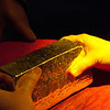 "<span id=""title"">Solid Gold</span> <em>Gold Reef City, Johannesburg</em> While they didn't pour actual gold during the demonstration, the <em>did</em> bring out this real gold bar that we got to touch and pick up. Spoiler: it's heavier than it looks."