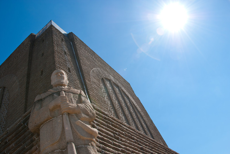"""<span id=""""title"""">Statue</span> <em>Voortrekker Monument, Pretoria</em> This monument is so imposing... it doesn't help that it's perched on one of the highest hills in the area."""