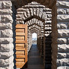 """<span id=""""title"""">At the Top</span> <em>Voortrekker Monument, Pretoria</em> This pathway at the top of the monument went all the way around. So great for views of the area."""
