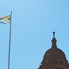 "<span id=""title"">Flag</span> <em>Union Buildings, Pretoria</em> Here's my obligatory South African flag photo. I really like their flag design, it's pretty cool."