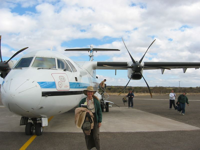 Our transportation from Johannesburg to the Botswana to start or Safari.