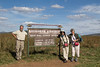 Traveling Companions, Tom, Nancy & Liz at Maasai Mara Airstrip