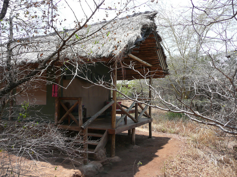 Our tent at Kirurumu Lodge