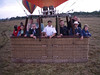 This our Balloon Safari group.