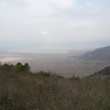 Lake Magadi from the overlook before driving down into the Crater