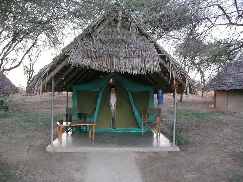 Our tent at Taragire Safari Lodge