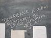 D4 school chalkboard