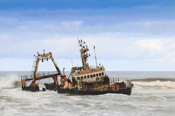 Skeleton Coast Shipwreck