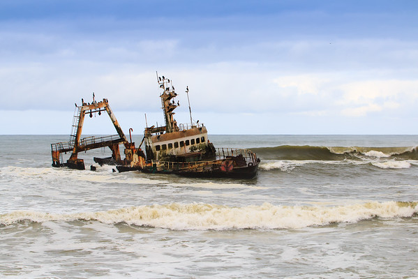Skeleton Coast Shipwreck
