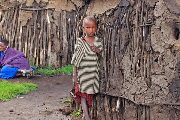 Maasai Boma Tanzania, March 2012