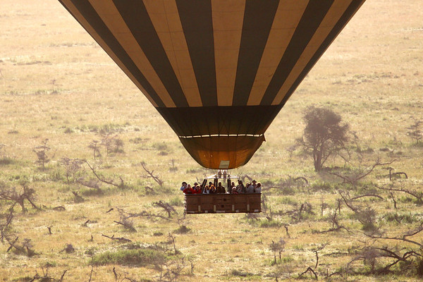 Ballooning over the Serengeti March 2012
