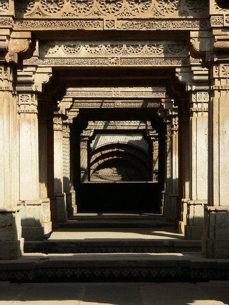 Adalaj Vas, (Step wells) Ahmedabad