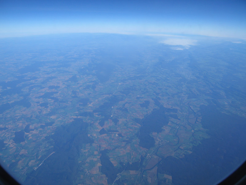 IMG_9684 - Near Lyon France enroute toward Dijon (26mins after Milano Malpensa takeoff)