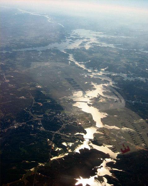 Body of water in Northern Georgia