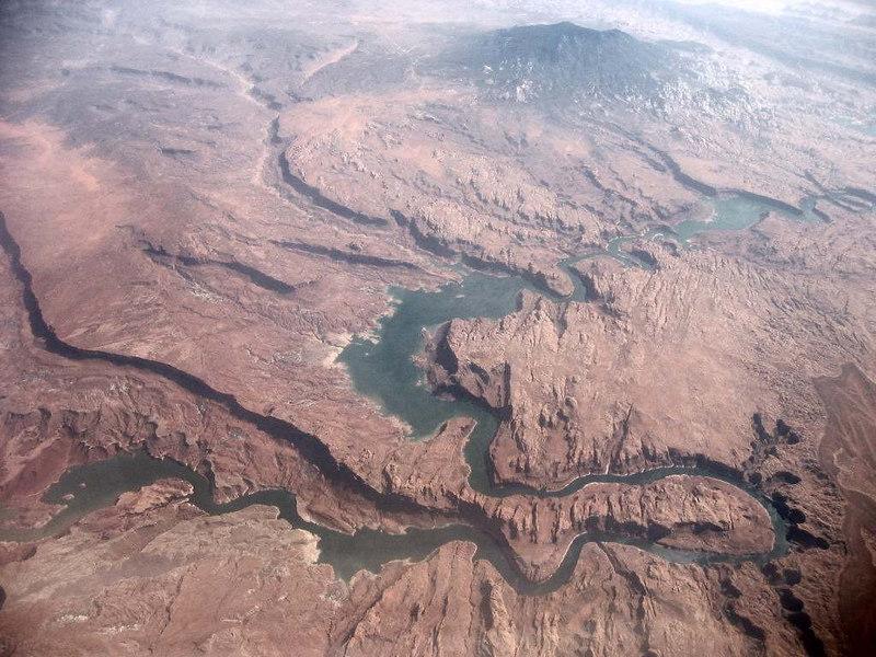 Western river landscape