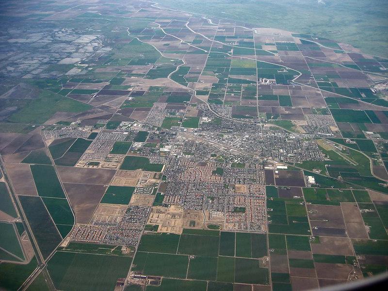 A Central Valley California farming town