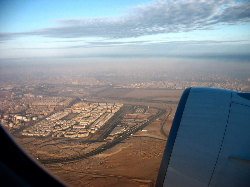 Cairo from air