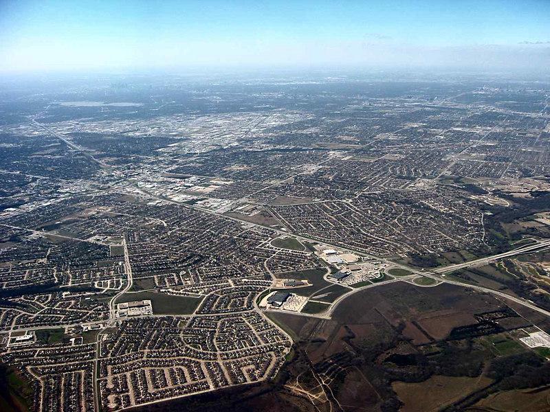 Approaching Dallas