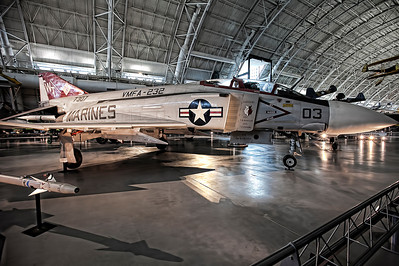 F4 Phantom - Flew heavily in Vietnam.  It was the first fighter designed to rely soley on missles which turned out to be a mistake.  Later models included a cannon.