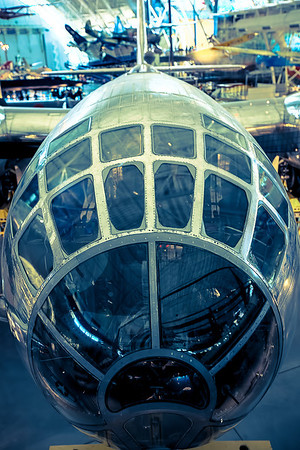 Cockpit of the Enola Gay B29 Super Fortress