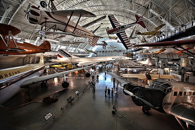 Commercial Aviation section of the Air & Space museum