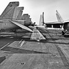 Catapult View F/A-18 Hornets on Flight Deck of Carrier USS Harry Truman (CVN 75).