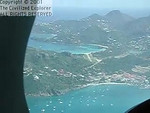 Approaching St. Barth.