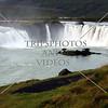 Godafoss Falls in Iceland.