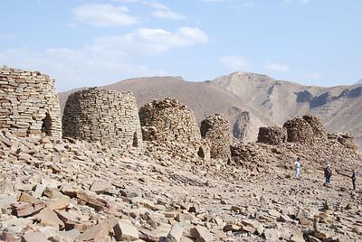 Al Ayn tombs.