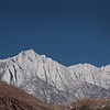 Mt Whitney in Moonlight